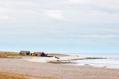 Shoreline della Gotland, Svezia fotografia stock libera da diritti