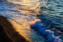 Shoreline di luccichio Fotografia Stock Libera da Diritti