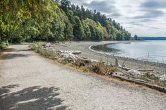 Shoreline di nord-ovest pacifico 5 Fotografia Stock