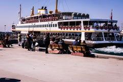Shoreline för trans. för Istanbul stadshav Arkivbilder