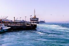 Shoreline för trans. för Istanbul stadshav Royaltyfri Bild