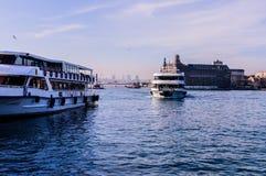 Shoreline för trans. för Istanbul stadshav Royaltyfri Foto