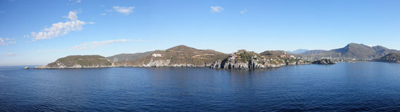Shoreline of Harbor opening in Zihuatanejo, Mexico. On a nice day Royalty Free Stock Images