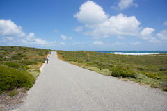 Shoreline Hike at Rottnest Island Royalty Free Stock Image