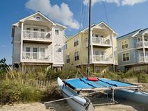 Shoreline Homes Stock Images