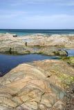 Shoreline, Iona Stock Photo
