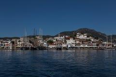 Shoreline of Marmaris, Turkey Stock Images