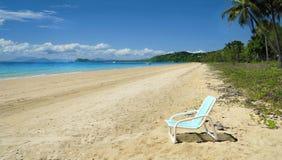 Shoreline at Mission Beach Stock Image