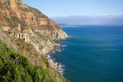 Shoreline near Cape Point, South Africa Stock Photo