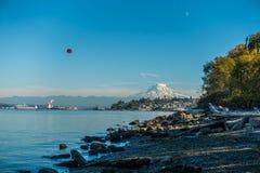 Shoreline och mer regnig 5 Royaltyfria Bilder
