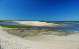 Free Shoreline Of Wellfleet Bay In Cape Cod. Stock Photo - 83521110