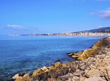 Shoreline in Palma of Majorca Royalty Free Stock Photos