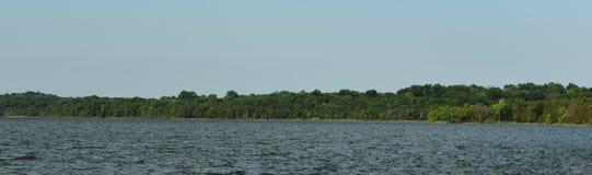 Shoreline panoramique Percy Priest Lake 3 photos stock