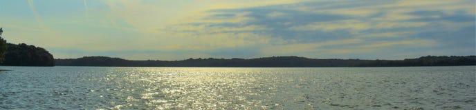 Shoreline panoramique Percy Priest Lake 5 image libre de droits