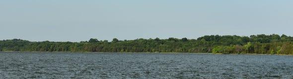 Shoreline panoramique Percy Priest Lake 7 photos stock