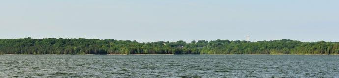 Shoreline panoramique Percy Priest Lake 12 photos stock