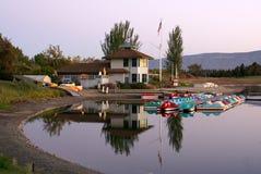Free Shoreline Park Lake, Mountain View, California, USA Royalty Free Stock Photos - 88629588