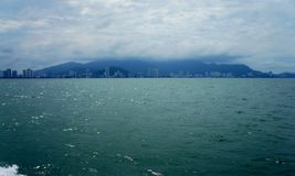 Shoreline of Penang Royalty Free Stock Photography