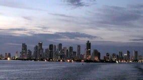 Shoreline of Playa de Boca Grande in Cartagena - Colombia stock footage