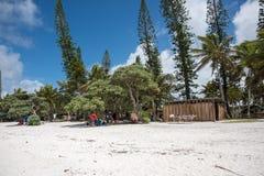 Shoreline Scene at Yejele Beach Royalty Free Stock Images