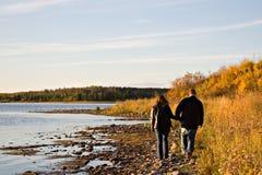 Shoreline Stroll Stock Images