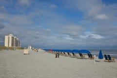 Shoreline sur Myrtle Beach Photographie stock
