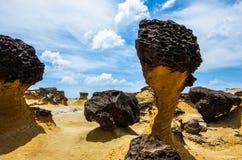 shoreline taiwan arkivfoton