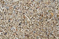 Shoreline texture Royalty Free Stock Photography