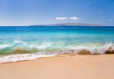 shoreline wave stock image