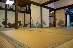 Shoren在tatami屋子里 免版税图库摄影