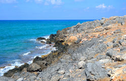 The shores of the Aegean Sea. Royalty Free Stock Photography