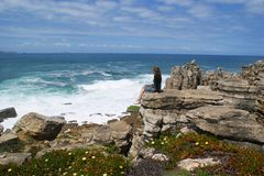 On the shores of the Atlantic ocean, Portugal Stock Photo