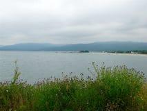 Shores of Cape Breton. Scenic vista along the shores of Cape Breton, Nova Royalty Free Stock Image