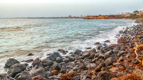 Shores of Dakar Royalty Free Stock Photo