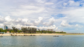 Shores of Dar es Salaam Royalty Free Stock Photos