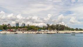 Shores of Dar es Salaam. The shores of the Indian Ocean in Dar es Salaam, Tanzania Stock Photos