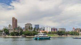 Shores of Dar es Salaam. The shores of the Indian Ocean in Dar es Salaam, Tanzania Stock Photography