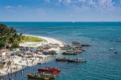 Shores of Dar es Salaam. The shores of the Indian Ocean in Dar es Salaam, Tanzania, Africa Stock Image