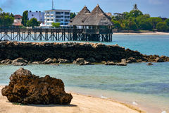 Shores of the Indian Ocean Royalty Free Stock Photo