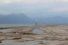 Shores of Lake Garda Royalty Free Stock Photos