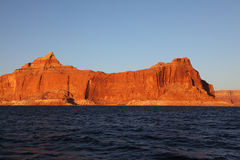 On the shores of Lake Powell Royalty Free Stock Image