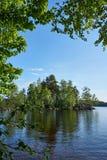 Shores of Lake Pyhajarvi, Finland Royalty Free Stock Photo