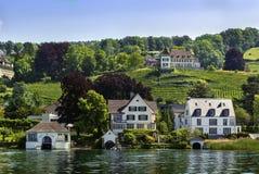 Shores of Lake Zurich, Switzerland Stock Images