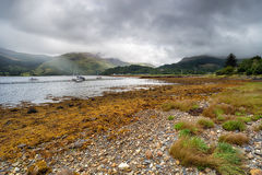 The Shores of Loch Leven Royalty Free Stock Photos