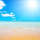 Shores of the solar sea Stock Image