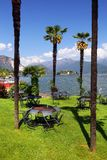 STRESA, ITALY - 11MAY, 2018 - summer scene Stresa, famous resort on the western shore of Maggiore Lake Stock Image