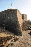 Ancient Sea Fortress Guernsey Stock Image