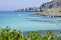 Shorline della Mallorca Fotografia Stock Libera da Diritti