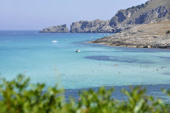 Shorline van Mallorca Royalty-vrije Stock Foto