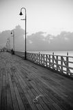 Shorncliffe B&W Sunrise Series Royalty Free Stock Photo